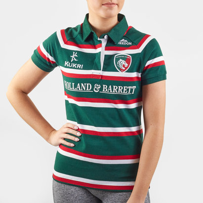 Kukri Leicester Tigers 2019/20 Home Ladies S/S Classic Shirt