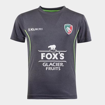 Kukri Leicester Tigers 2019/20 Kids Training T-Shirt