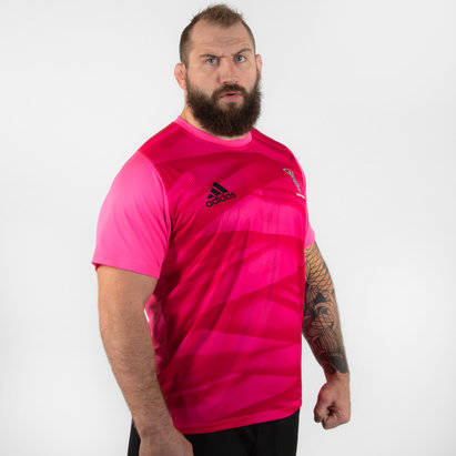 adidas Harlequins 2019/20 Players S/S Rugby T-Shirt