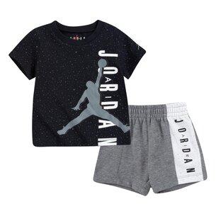 Air Jordan Piece Tee  And  Short Set
