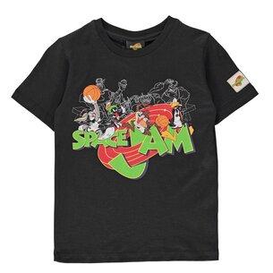 Hype x Space Jam Retro Character Print Kids T-Shirt