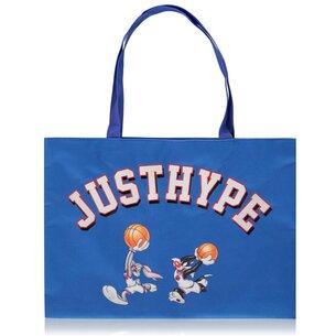 Hype x Space Jam Retro Blue Varsity Tote Bag