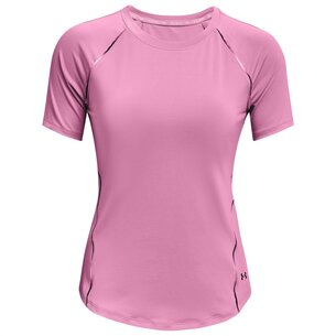 Under Armour Armour Rush Scallop T Shirt Womens
