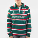 Leicester Tigers 2019/20 Home Ladies L/S Classic Shirt
