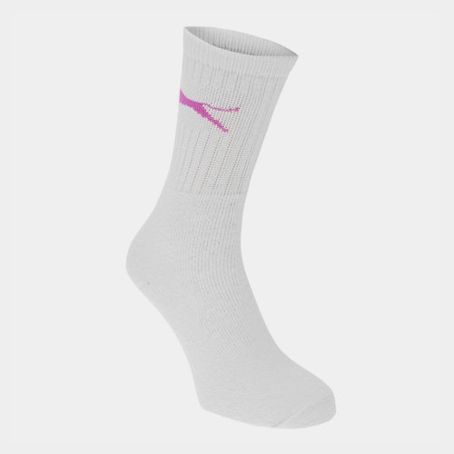 5 Pack Crew Socks Ladies