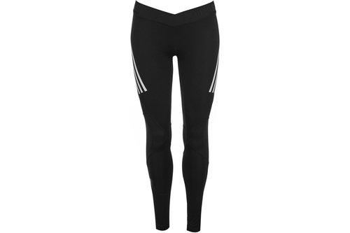 Alphaskin Sport 3 Stripe Tights Ladies