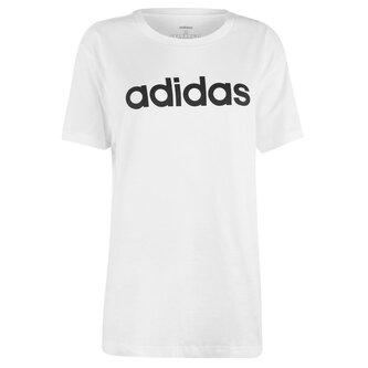 Linear Boyfriend QT T Shirt Ladies