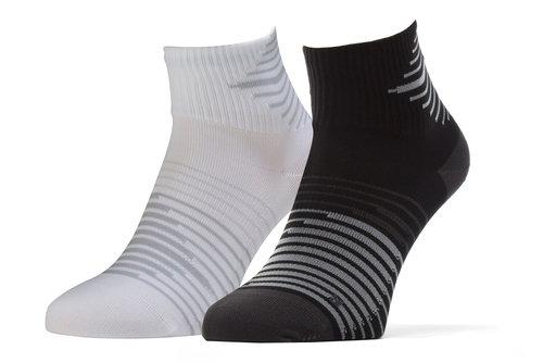 2 Pack Dri-FIT Lightweight Quarter Training Socks