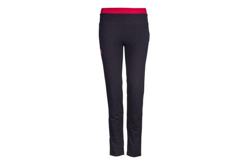CCC Open Hem Ladies Contrast Fleece Pants