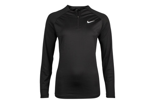 Ladies Drill L/S 1/4 Zip Training Top