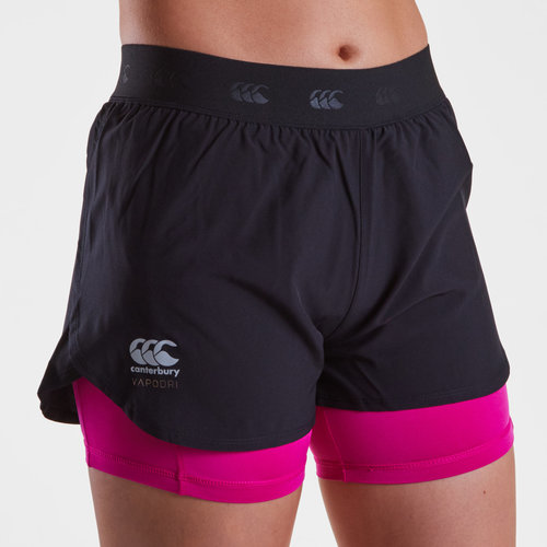 Vapodri 2 in 1 Ladies Training Shorts