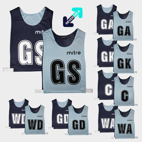 Netball Pro Reversible Bibs Set of 7