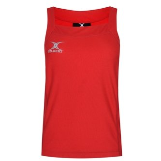 Blaze Hook & Loop Netball Tank Top