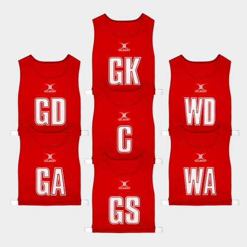 Classic Netball Bibs Set of 7