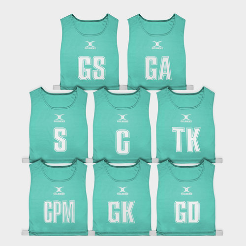 High 5 Netball Bibs Set of 8
