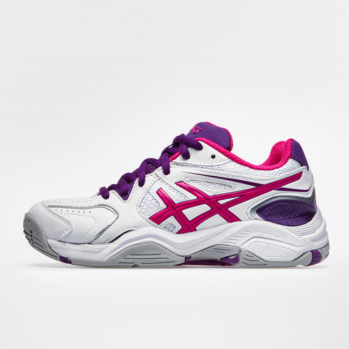 Gel Netburner 17 GS Kids Netball Trainers