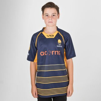 Worcester Warriors 2018/19 Kids Home Replica Shirt