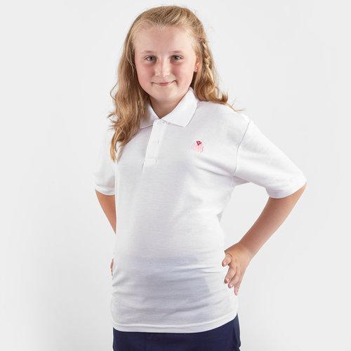 Girls Blush Polo Shirt