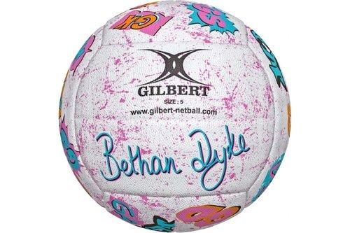 Signature Bethan Dyke Netball