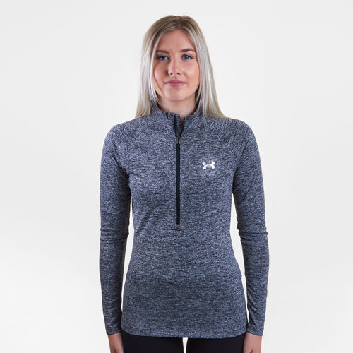 Tech Ladies 1/2 Zip Twist Training Top