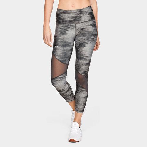 HeatGear Armour Ladies Ankle Print Crop Leggings