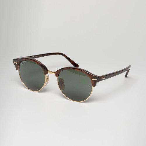 Ray-Ban 4246 990 Polarized Clubround Sunglasses