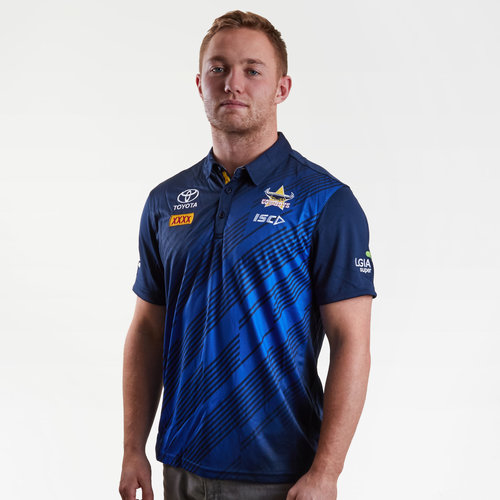 North Queensland Cowboys NRL 2019 Players Rugby Polo Shirt