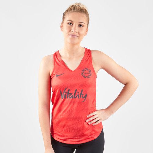 England 2019 Ladies Netball Training Tank Top