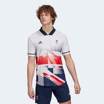 Team GB Football Jersey Mens