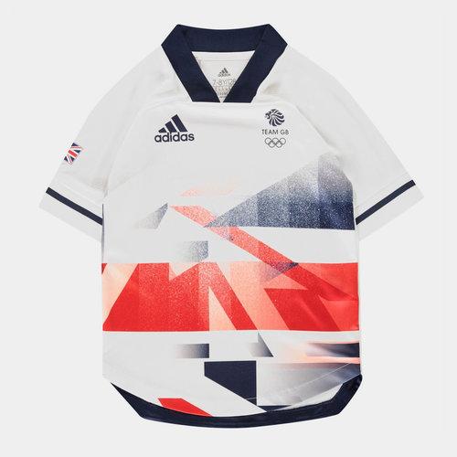 Team GB Football Jersey Juniors