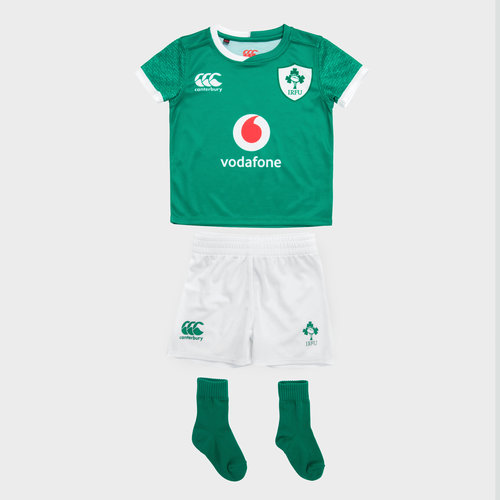 Ireland IRFU 2019/20 Home Infant Rugby Kit