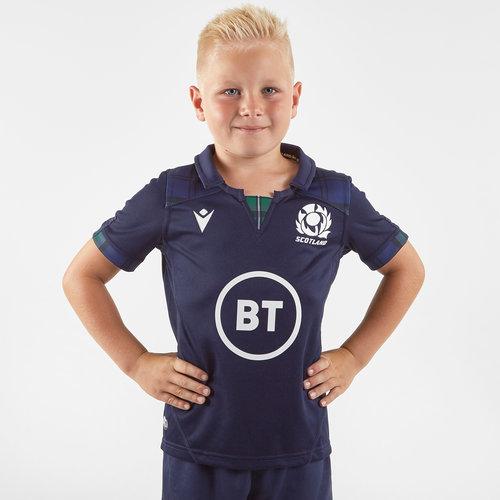 Scotland 2019/20 Kids Home S/S Replica Shirt