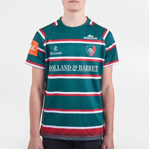 Leicester Tigers 2019/20 Home Kids Replica Shirt