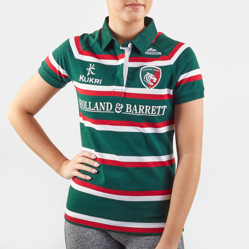 Leicester Tigers 2019/20 Home Ladies S/S Classic Shirt