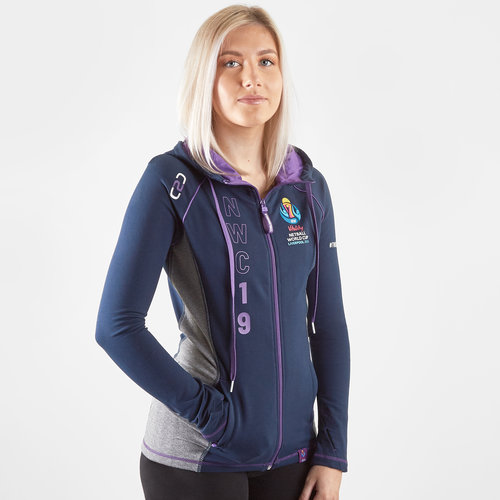 VNWC 2019 Ladies Supporter Fitted Full Zip Hooded Sweat