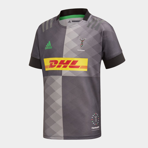 Harlequins 2019/20 Youth Big Game S/S Replica Rugby Shirt