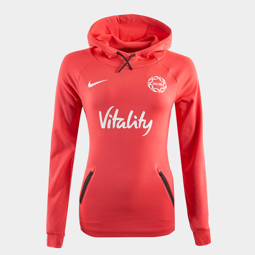 England NWC 2019 Ladies Netball Hooded Sweat